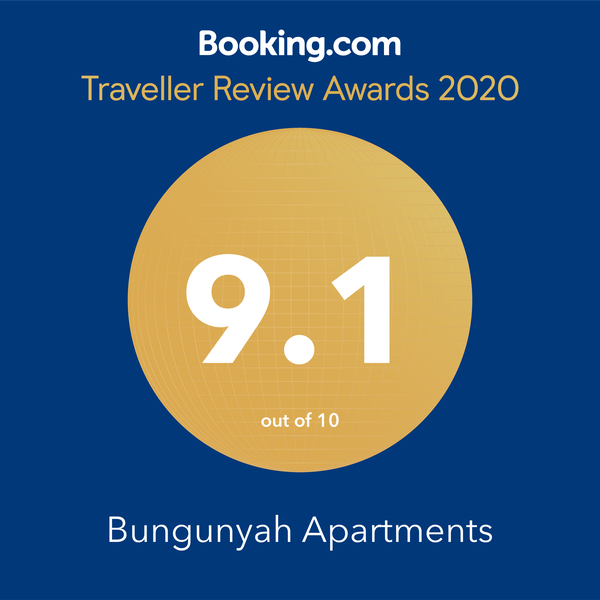 Booking.com 9.1 2020 Award Winner
