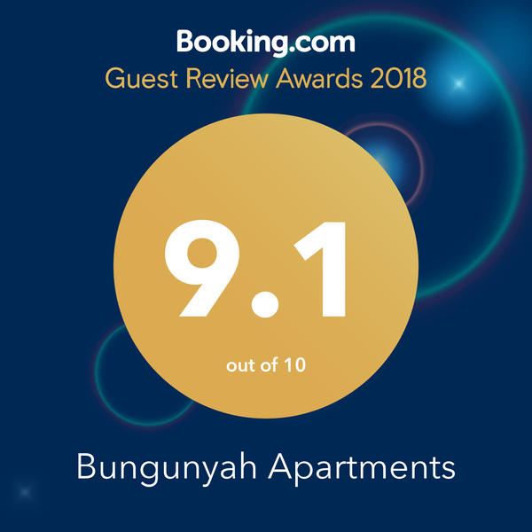Booking.com 9.1 2018 Award Winner
